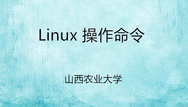 Linux操作命令-岳老师课程