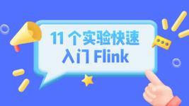 11 个实验快速入门 Flink