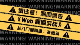 Web 漏洞实战:从入门到精通